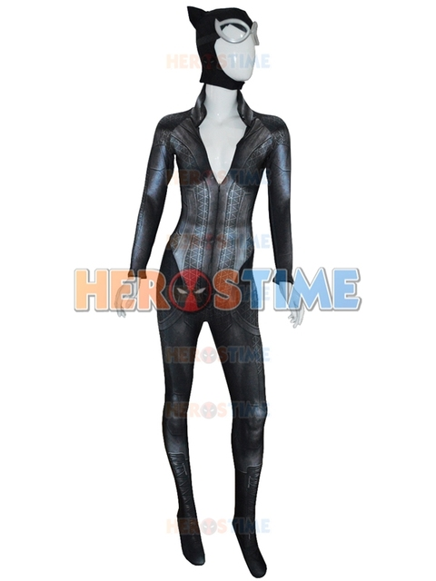Arkham City Catwoman Costume 3D Printed the catwoman bodysuit with Lenses  sc 1 st  AliExpress.com & Arkham City Catwoman Costume 3D Printed the catwoman bodysuit with ...