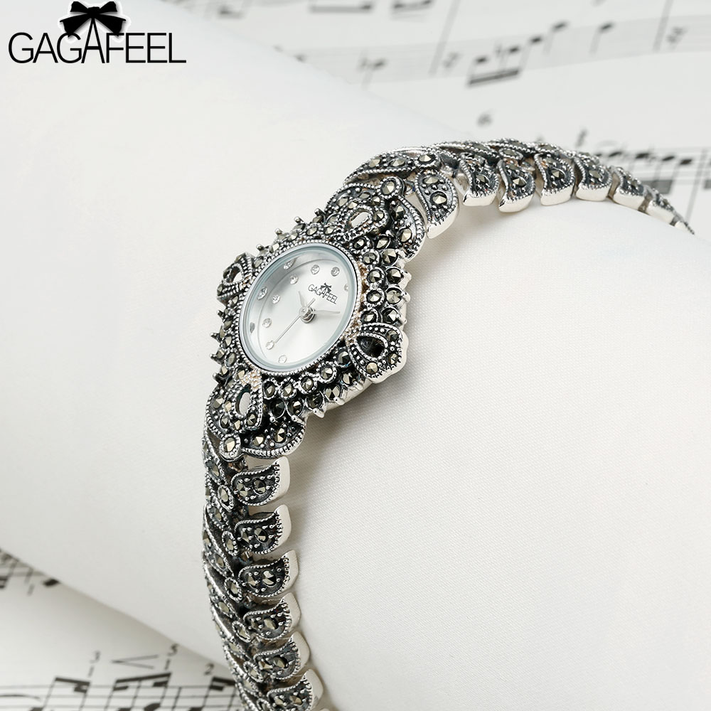 gagafeel women s bracelet watch watch 925 sterling