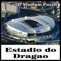 3D puzzle football stadium Estadio do Dragao Portugal souvenir puzzle model Games Toys Halloween Christmas