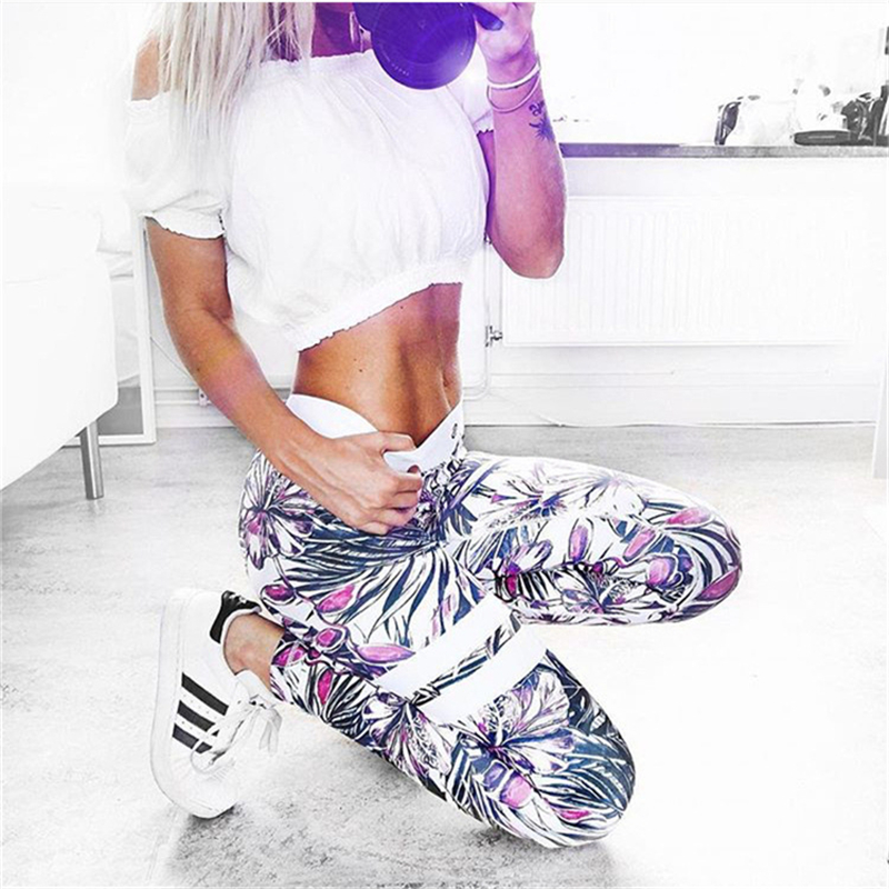 3D Printed Leggings 2019 New Arrival Halloween Christmas Gift Black Rainforest Pattern Women's Casual Spring And Autumn Pants