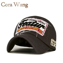 Cora Wang 2017 Branded Baseball Cap Men Feature Cotton Snapback Caps Feature Letters Patch Dad Hats For Men Women Bone Masculino