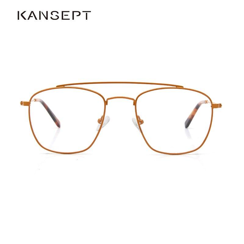 Metal Women Glasses Frame Men Stylish Myopia Prescription Eyeglasses Male Full Fashion Brand Optical Frame Eyewear Frame#1805