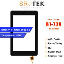 Srjtek для Acer Iconia One 7 b1-730 b1-730hd B1 730 730HD сенсорный экран с цифрователем сенсорного ввода Tablet PC Запчасти для авто