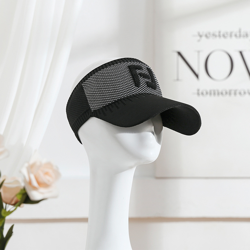 Spring Summer Outdoor Sport Visors Hat Caps Top Air Breathable Casual Sun Visor Running Hat For Women Men
