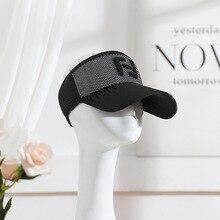 Весна Лето Спорт на открытом воздухе козырьки шляпы кепки Топ воздух дышащий Повседневный солнцезащитный козырек Беговая шляпа для женщин и мужчин