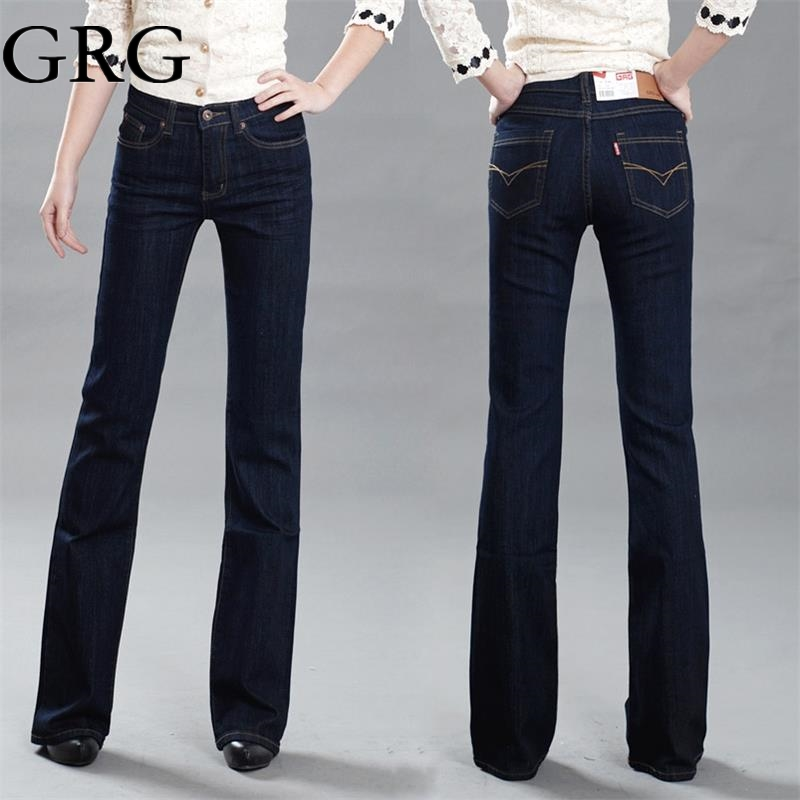 Slim Bootcut Jeans For Women