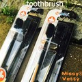 2 pieces toothbrushes nano deep cleaning Oral cleaning hygiene teeth whitening antibacterial Soft Adult toothbrush bamboo