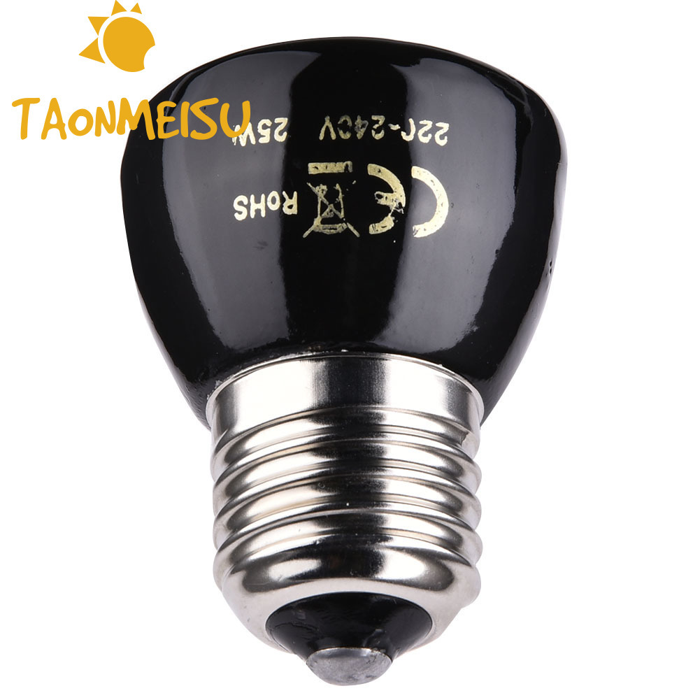 20w/50w /75w /100w E27 Far-infrared Ceramic Pet Heating Lamp Light Bulbs For Tortoise Lizard Spider Reptile Box Warmer Lighting