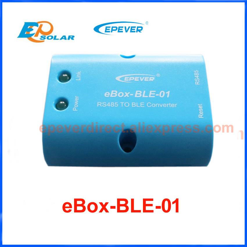 EPEVER Bluetooth Box Serial Adapter for EP Tracer Solar Controller and Inverter Communication via Mobile Phone APP eBox-BLE-01 EPEVER Bluetooth Box Serial Adapter for EP Tracer Solar Controller and Inverter Communication via Mobile Phone APP eBox-BLE-01