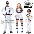 Fantasias Halloween Party Cosplay Astronaut Costume Spacesuit Theatrical Dress Clothes Family Matching Suit Dad Mom Son Cospaly