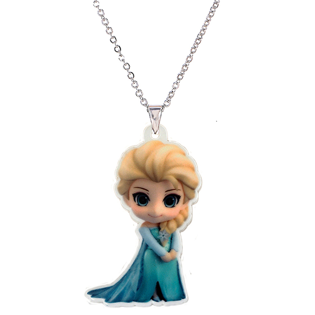 Aliexpress buy kawaii cartoon princess acrylic pendant kawaii cartoon princess acrylic pendant necklace for girls silver chain flatback planar resin childrens necklaces mozeypictures Image collections
