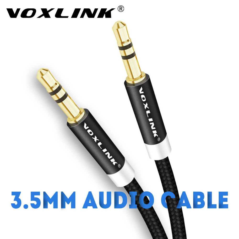 5x 6FT 3.5mm Auxiliary Aux Male to Male Stereo Audio Cable Cord iPod Car MP3 PC