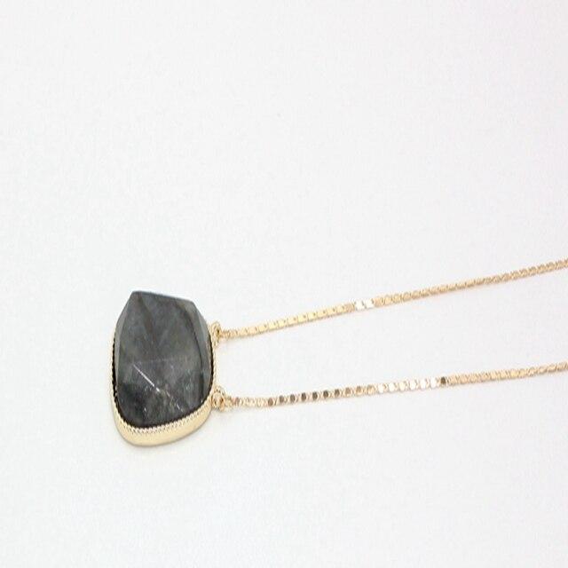 Chicvie эффектное ожерелье из натурального камня популярные