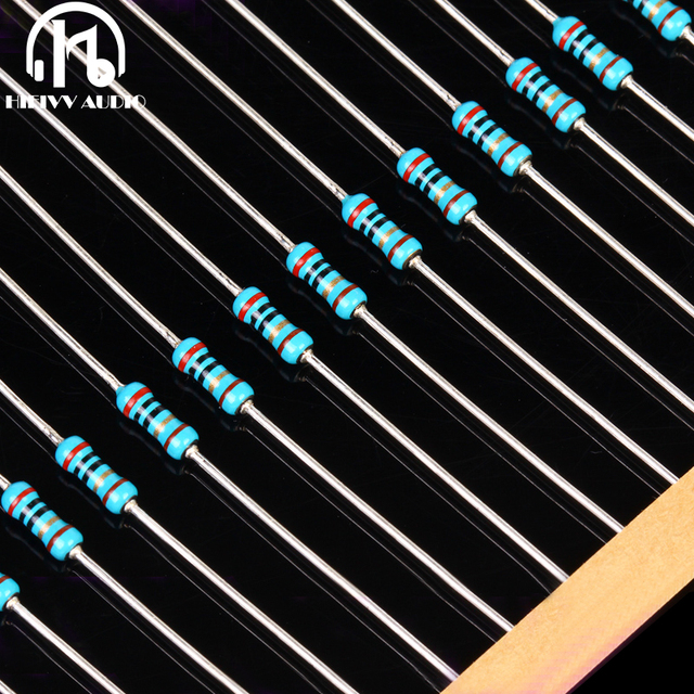 Hi end resistor pack welwyn MFR4 0.25W volume 0.5W power 1% Resistance  20Pcs Free Shipping