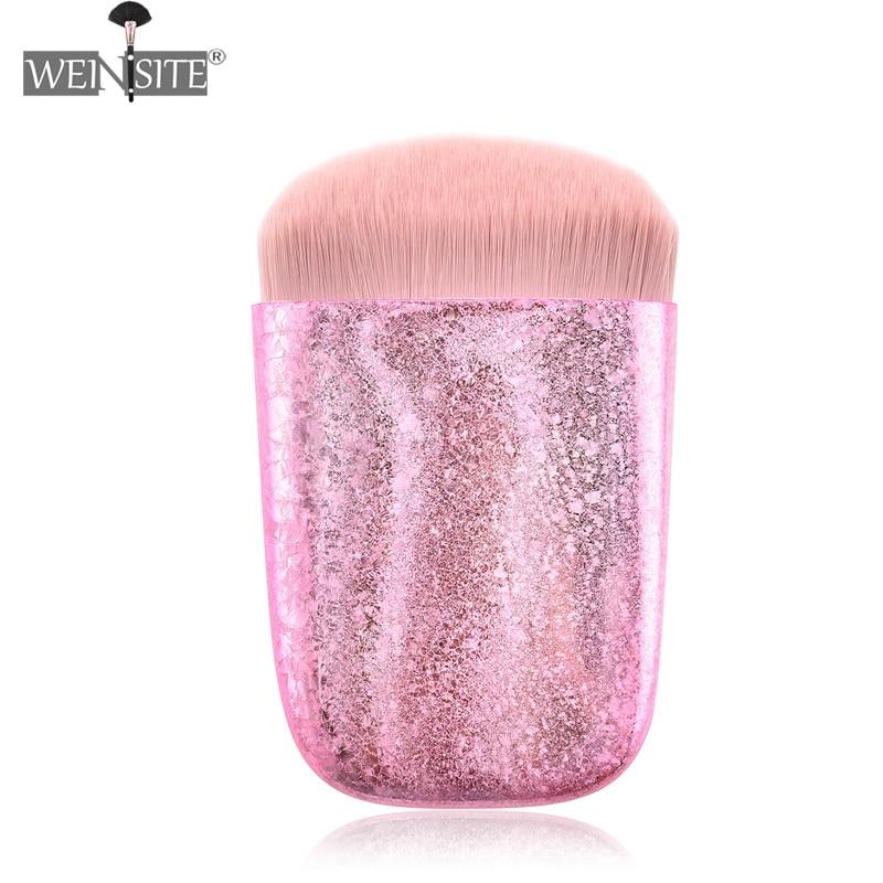 Luxus Matt Gold Make-Up Pinsel Weiche Foundation Pinsel Pulver Kosmetische Werkzeuge Für Frauen Schönheit Brochas Maquillagem