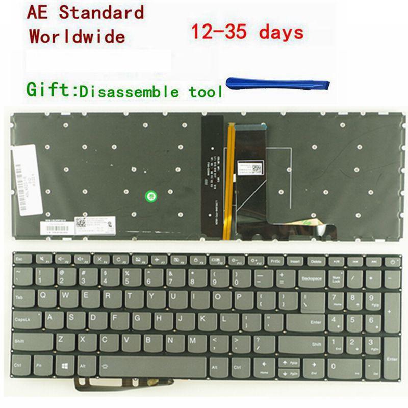 US New Keyboard FOR lenovo IdeaPad 320-15 320-15ABR 320-15AST 320-15IAP 320-15IKB 320S-15ISK 320S-15IKB laptop keyboard Backlit new us keyboard for acer aspire vn7 793g vx5 591g vx5 591g 52wn us laptop keyboard with backlit