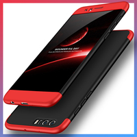 Fashion Hard Matte PC Cover Cases For Huawei Honor 8 Case 360 Degree Full Body Protection
