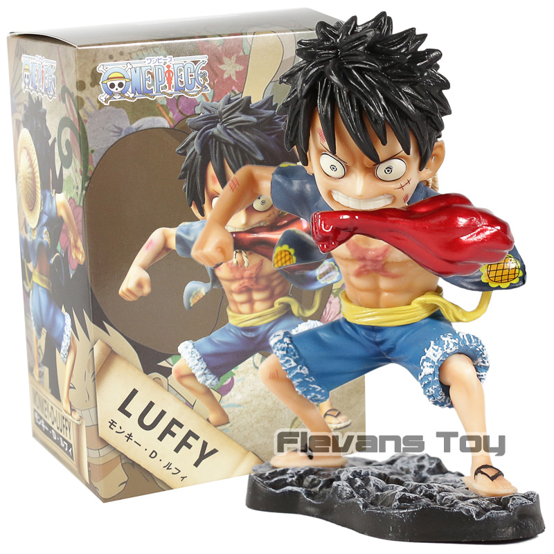 Anime One Piece GK Monkey D Luffy Transform Ver. PVC Statue Figure Collectible Model Toy
