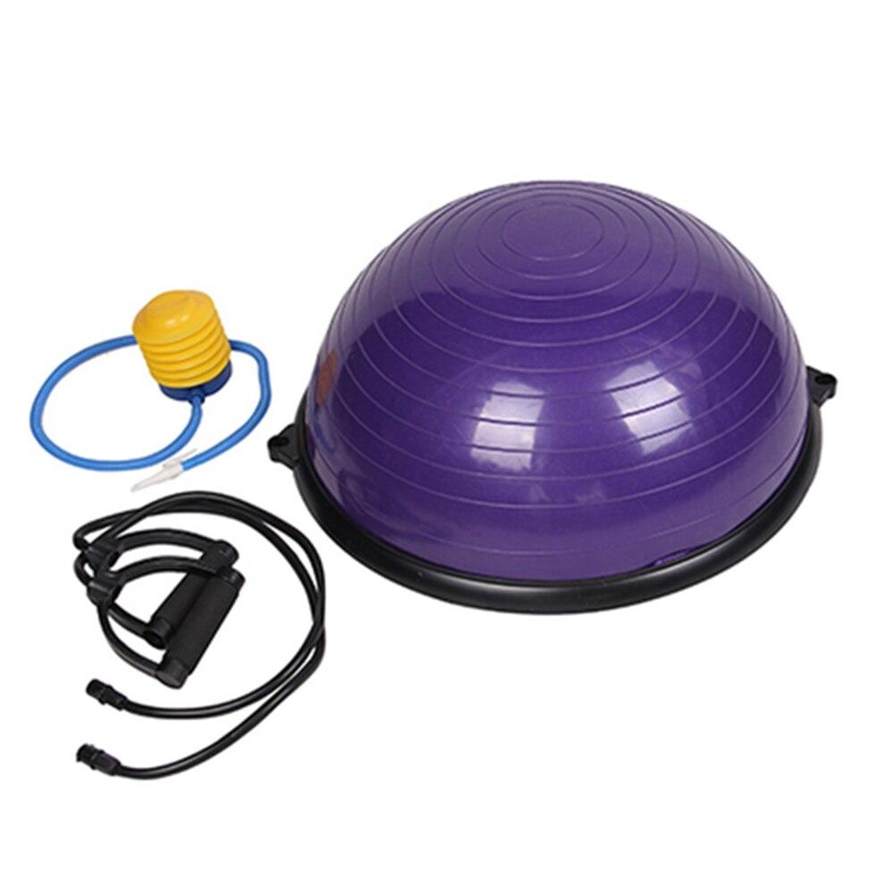 Livraison gratuite Yoga hémisphère spécial Fitness balle équilibre hémisphère Fitness vague balle maison Salon Yoga multicolore en option