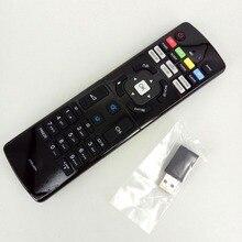 جديد الأصلي التحكم عن بعد ل هاير LED HDTV التلفزيون التحكم عن بعد ضعف الجانب مع USB Keyboar HTR U07H HTRU07H USB Fernbedienung