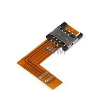 Solderless Usim ranura para tarjeta sim 3G WWAN mini pci-e módulo de soporte modem conector para Wireles Wifi Tarjeta WWAN 3G módem