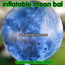 inflatable moon ball big size Artificial moon included LED, air pump, use for Big Party,festival celebration