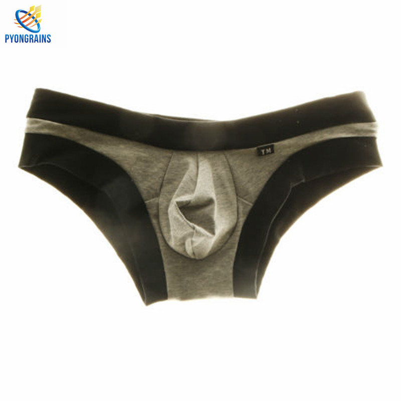 Bikini 2017 Mens Underwear Briefs Cotton Low Waist Underpanties For Men Male Panties Ropa Interior Hombre Sexy Male Briefs