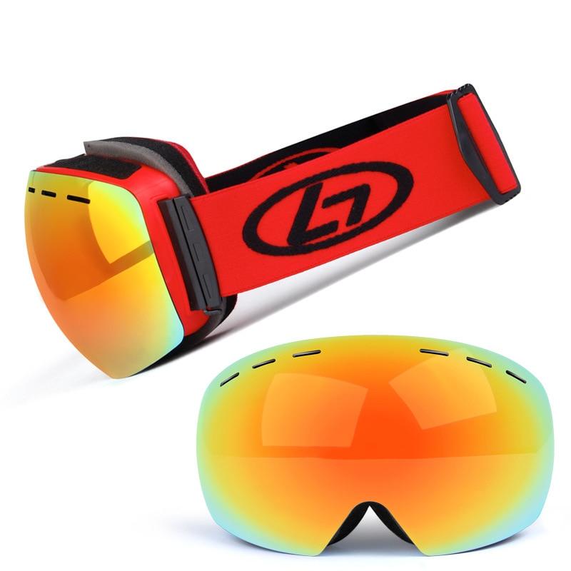 Ski Lunettes Pour Femmes Snowboard Lunettes lunettes de Ski Hommes Snowboard Masque Motoneige Verres D'hiver antiparras nieve. A30
