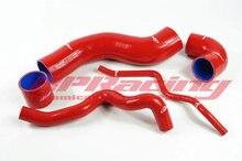 Силиконовый турбо впускной шланг/труба/трубный комплект, красный для VW Golf IV / BORA 1,8 T JETTA 1996 2005