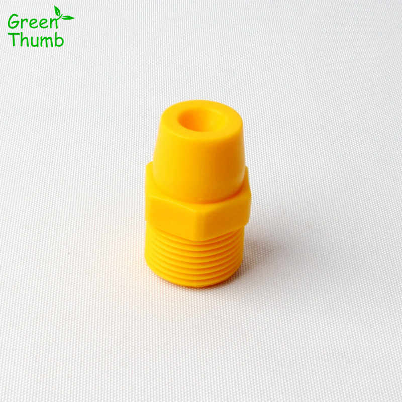 "20pcs 1//8/"" bspt Plastic PP atomization nozzle Cone spray nozzle Yellow"