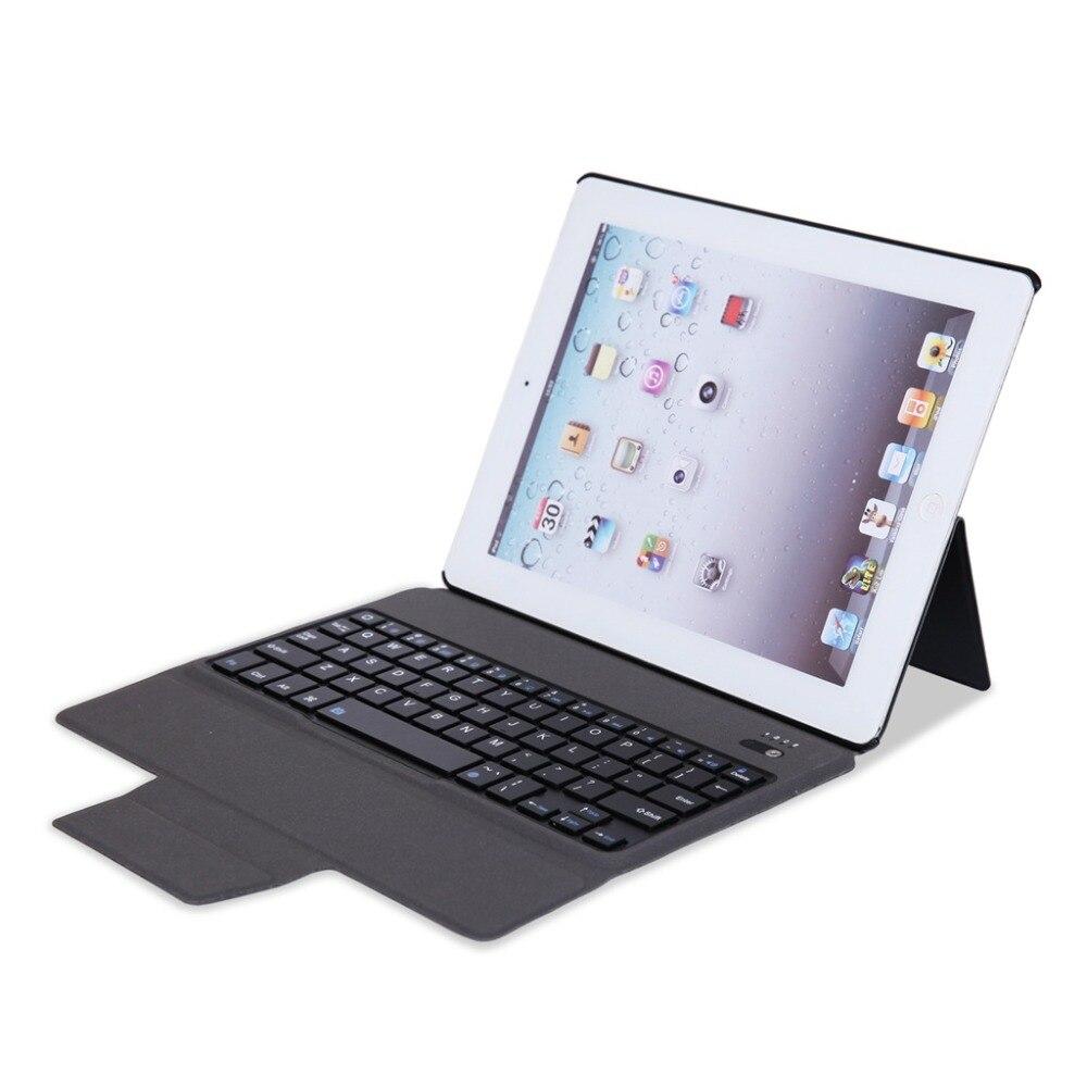 Bluetooth Clavier PU Étui En Cuir Pour Apple iPad 234 A1458 A1459 A1460 Ultra Mince Intelligent Coque De Protection Funda + Stylus stylo + Film