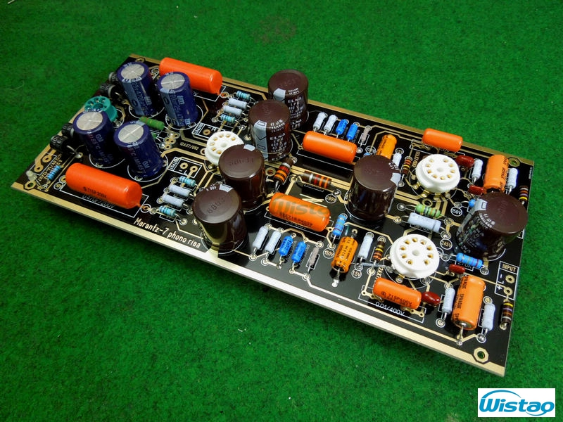Tube Preamplifier Stage Kit  Marantz 7 12AX7 6X4 Rectifier No Soldering No Including Tubes HIFI  DIY Free Shipping