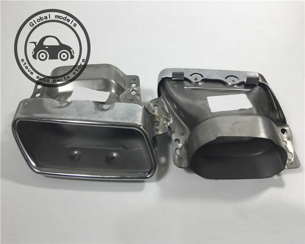 2 шт./компл. выхлопные трубы наконечники глушителя для Mercedes Benz W164 ML280 300 320 350 450 500 GL320 GL350 GL420 GL450 A2214901727