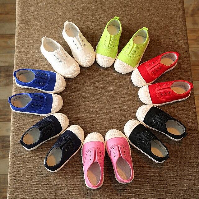 Kinderschoenen 29.Eur25 29 Lente Canvas Kinderschoenen Meisje Ademend Sneaker