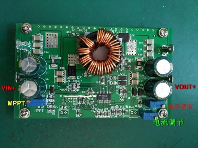 250 واط الشمسية MPPT CC CV شحن LT8705 التلقائي رفع والضغط DC DC