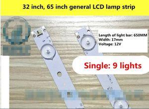 Image 3 - 24 adet yeni 32 inç 65 inç LCD TV LED ışık çubuğu evrensel LCD arka işık LED TV ışık çubuğu 650 uzun 9 işıkları
