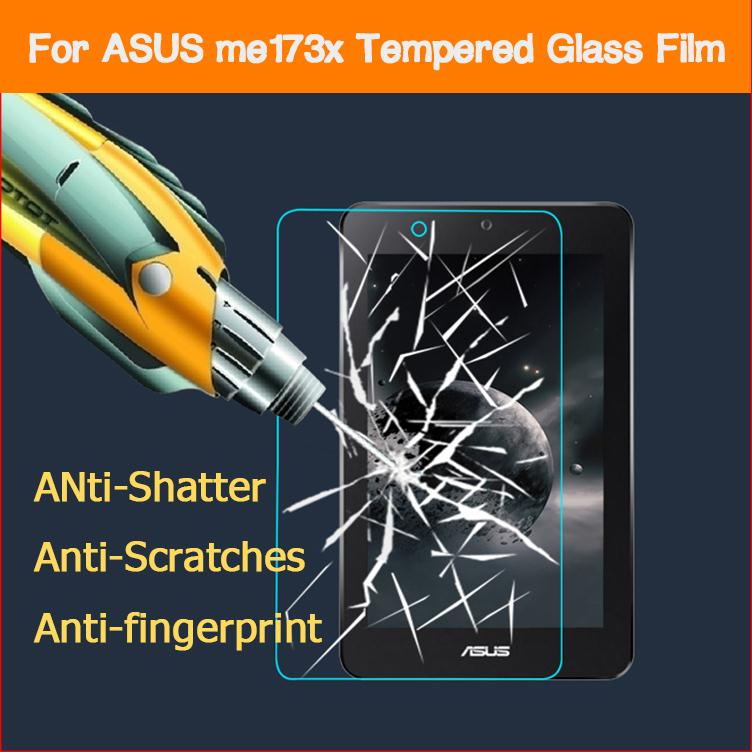 0 26mm 9H 2 5D Screen protector protective Anti shatter front HD lcd films for Asus