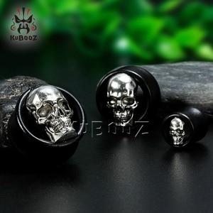 Image 5 - KUBOOZ Wood Ear Piercing Body Jewelry Ear Plugs Tunnels Expander Studs Gauges Earrings Extender Plugs Jewelry Fashion Gift