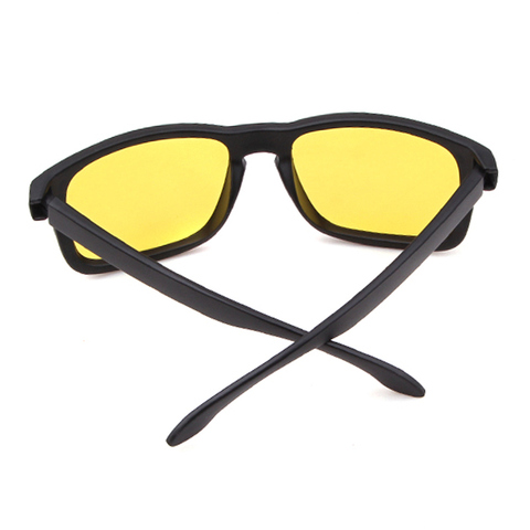Night Vision Driving Sunglasses Men Brand Yellow Lense Glasses Goggles Vision Night Glasses for Driving Yellow Sunglasses Male Multan