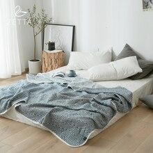 [ZETTA] 100% хлопковое летнее тонкое покрывало для детей и взрослых одеяло летнее одеяло ZTLFXB13