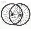 Go-zone 27 5 дюймов MTB Углеродные колеса 35x25 мм бескамерное колесо Novatec D791SB D792SB Boost 110x15 148x12 горный велосипед диск колесная