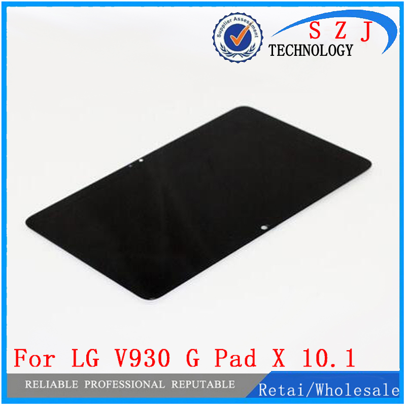 New 10.1'' inch Touch Screen Digitizer Glass + LCD Display Assembly For LG V930 G Pad X 10.1 LTE + Free Shipping for lg x cam k580 lcd screen display touch screen digitizer assembly free shipping