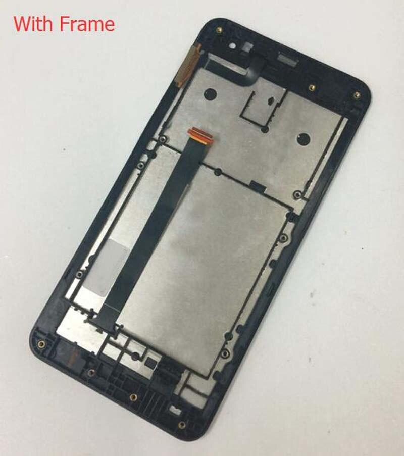 imágenes para Pantalla táctil de Cristal Digitalizador Del Sensor + Panel de la Pantalla LCD Monitor asamblea + Marco para Asus ZenFone 5 A500CG A500KL A501CG T00J