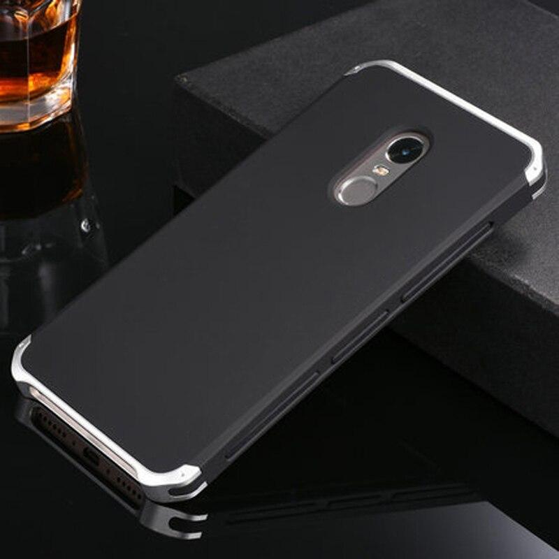 imágenes para Caso del Capítulo de Aluminio de lujo del Metal para XiaoMi Redmi Nota Policarbonato 4x Caso de La contraportada para XiaoMi Redmi Nota 4 Pro Note4x Coque