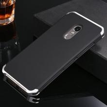 Роскошный алюминиевый корпус металлический каркас для Xiaomi Redmi Note 4x Поликарбонат обложка чехол для Xiaomi Redmi Note 4 Pro Note4x Coque