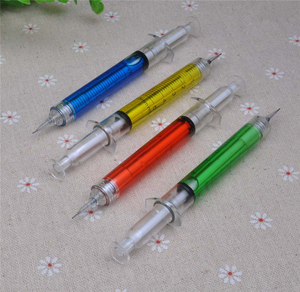 Image 2 - 30 stks/partij, 0.5mm Naald Spuit mechanische potloden, nieuwigheid Spuit vulpotlood als school stationair