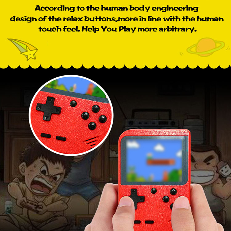 Coolbaby RS 6 Portable Mini Video Handheld Game Console 3 0 Inch LCD Kids Screen Game Player 168 species games Gift for Child in Handheld Game Players from Consumer Electronics