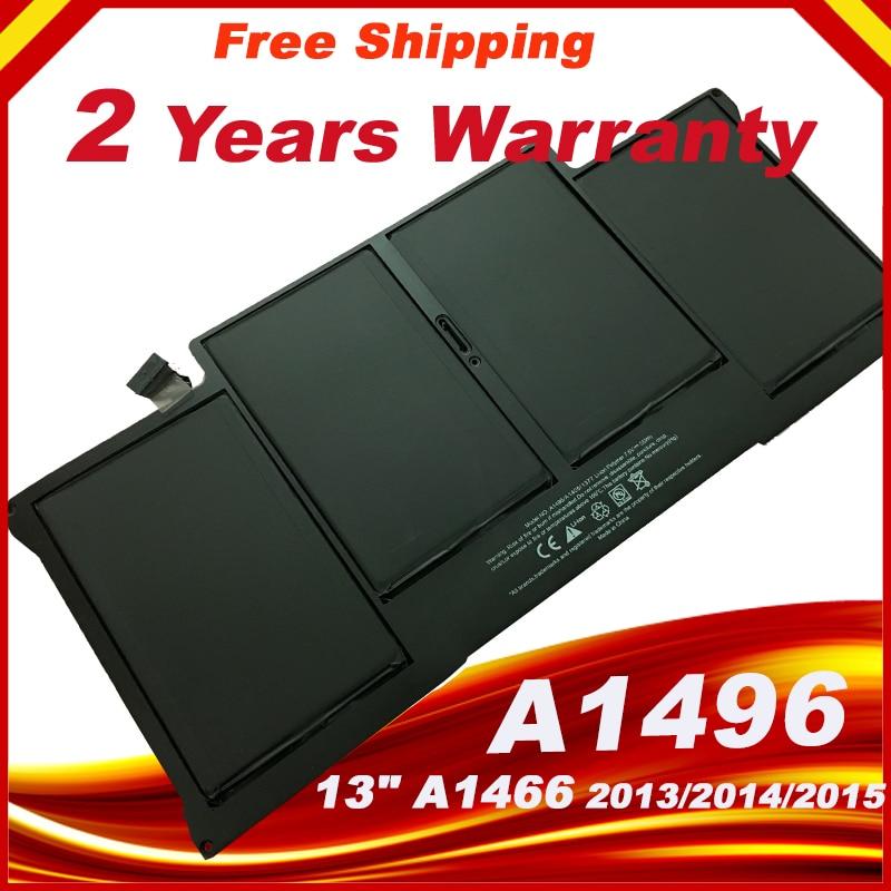 Batería para Apple Macbook Air 13 A1466 batería A1496 2013 de 2014 año 2015