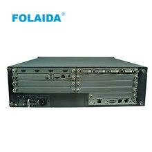 Folaida 8×16 16×8 16×16 4X12 Seamless HDMI Matrix Switcher 4Kx2K 5U with IR232 Wireless Remote, HDMI 2.0 4K supports 3D, 1080P