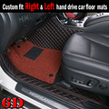 Special made car floor mats for Audi Q7 SUV 6D customized waterproof anti skid foot case car-styling rugs carpet liners(2006-)